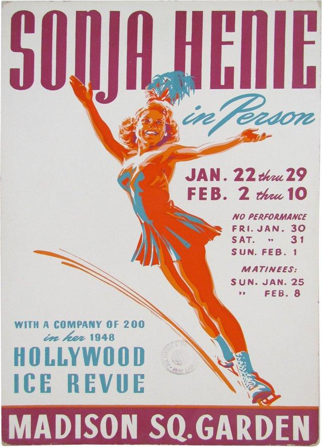 Sonja Henie Poster, 1948