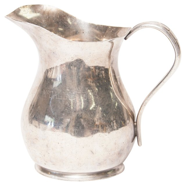 Reed & Barton Silverplate Pitcher