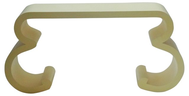 1970s Lacquered     Console