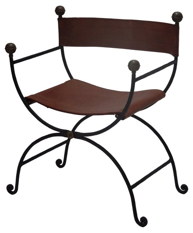 Campaign-Style  Chair