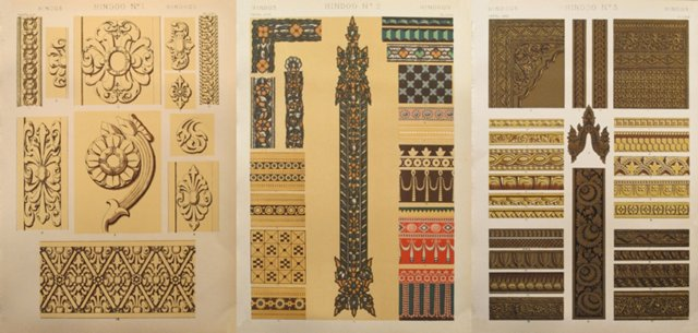 Owen Jones India Sheets, S/3