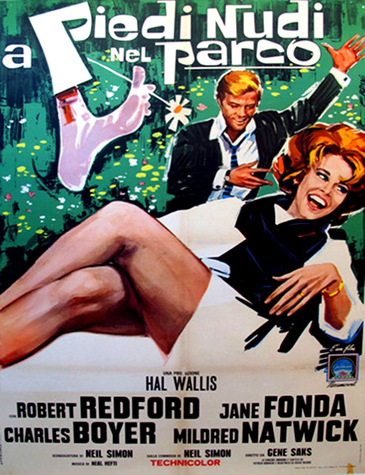 Italian Barefoot in the Park Poster