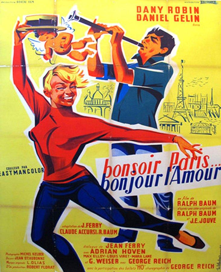 Bonsoir Paris, Bonjour Amour Poster