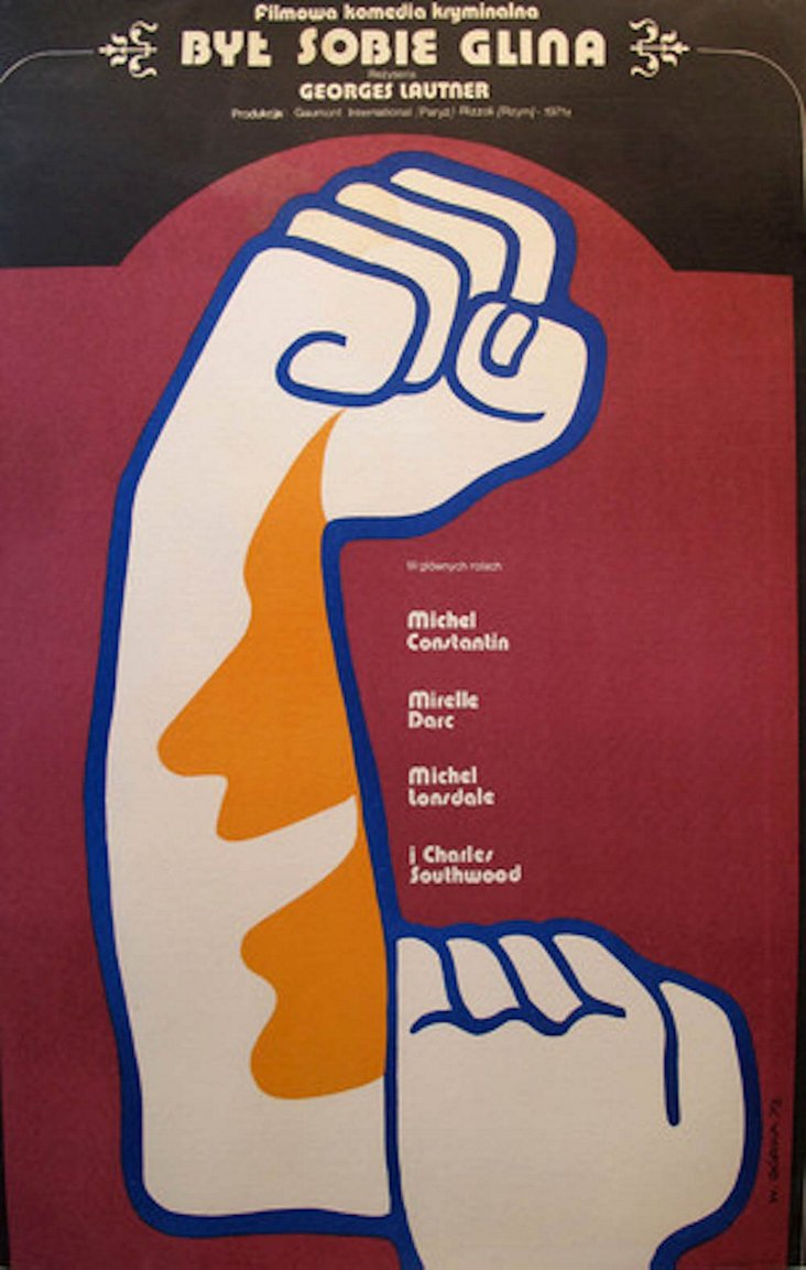 1980s Polish Movie Poster by Gorka