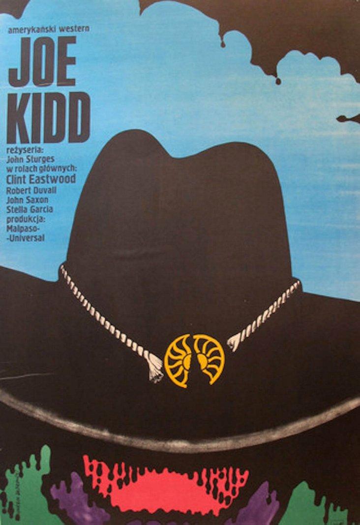Joe Kidd Movie Poster by Dabrowski