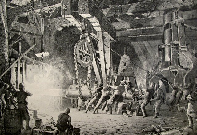 The Forging of the Shaft, 1888