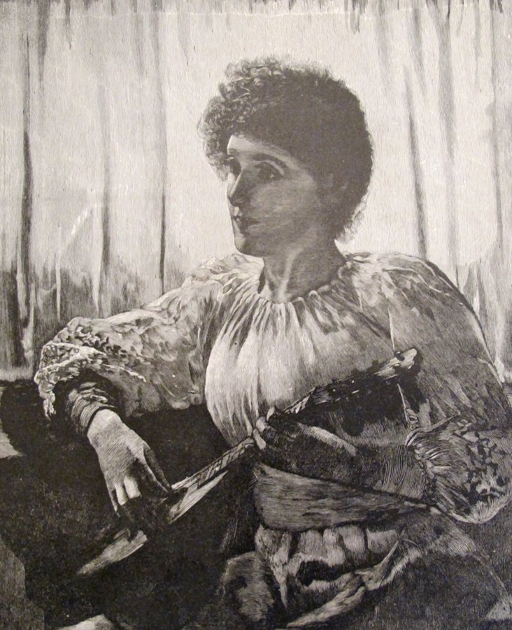 American Lithograph Reverie, 1888