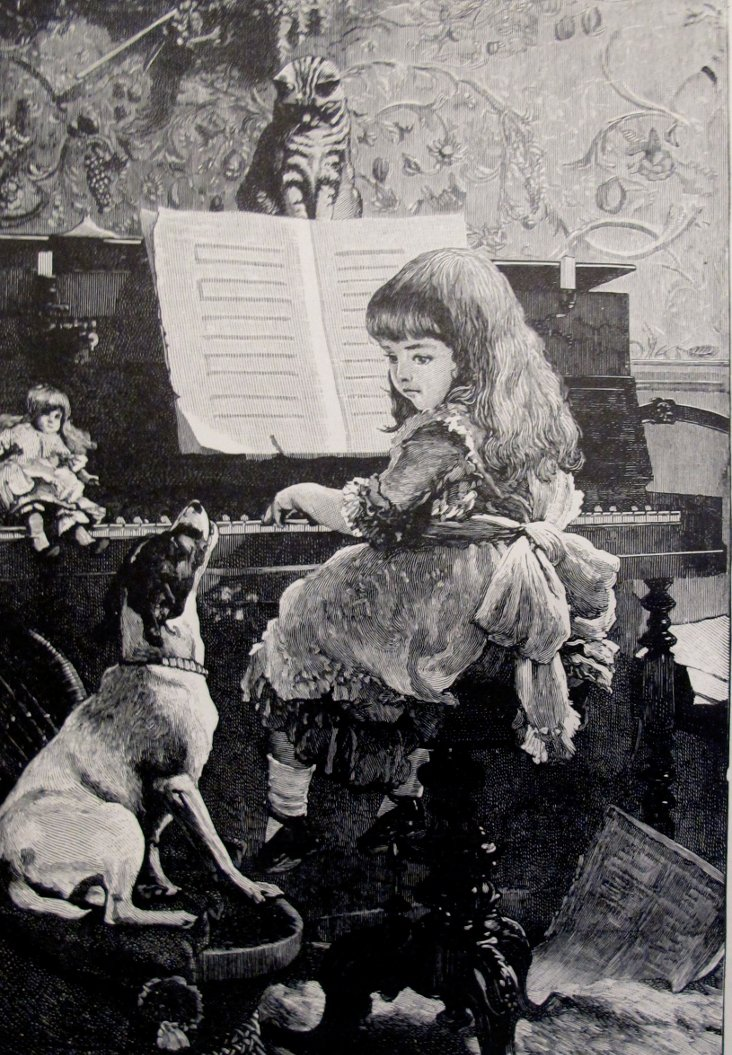 A Song Without Words, 1888