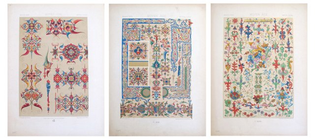 French  Designer  Sheets, C.  1900, S/3