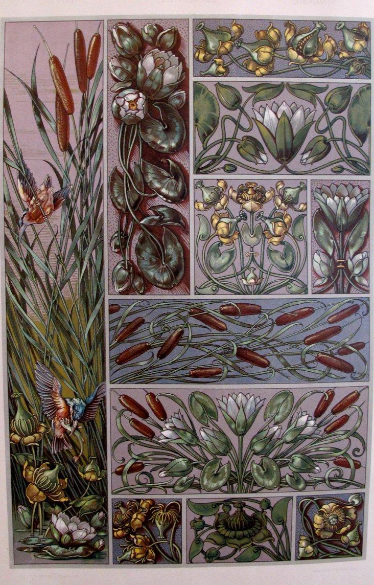 1920s German Plant Designer Sheet