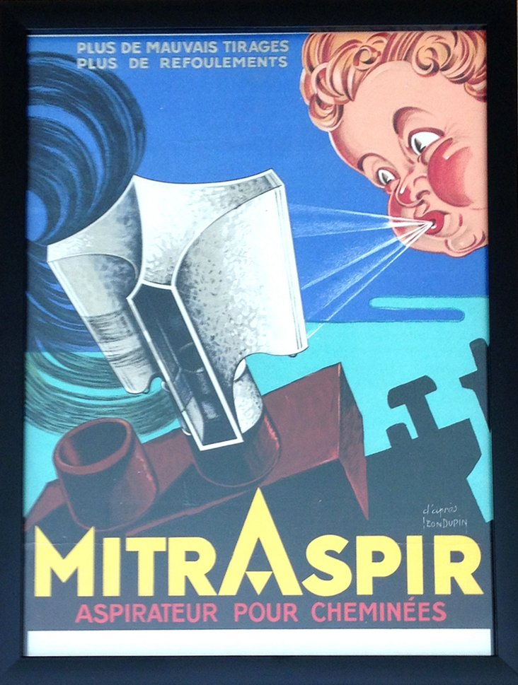 1920s French Art Deco Poster