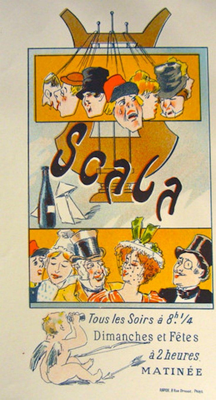 Scala Soirs Print by Misti, 1897