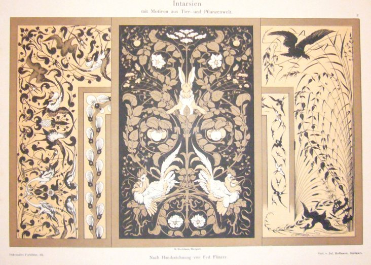 Angry Rabbit Design Sheet, C. 1900
