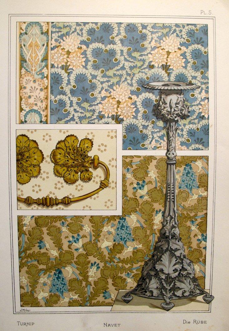 Turnip Decorator Sheet, 1885