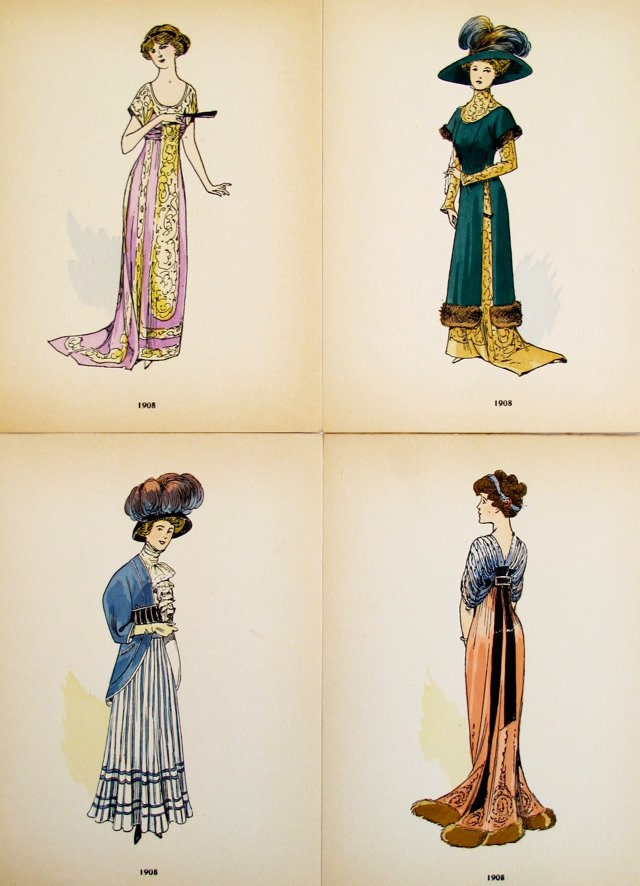 Fashion Illustrations,  1921, S/4