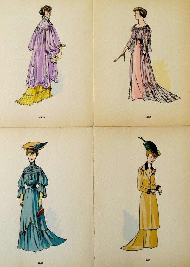 Fashion Illustrations, 1921, S/4