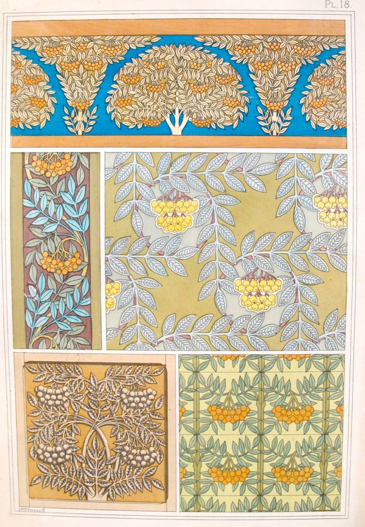 Sorb Decorator Sheet, 1855