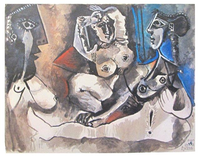Picasso Exhibition Catalog, 1972
