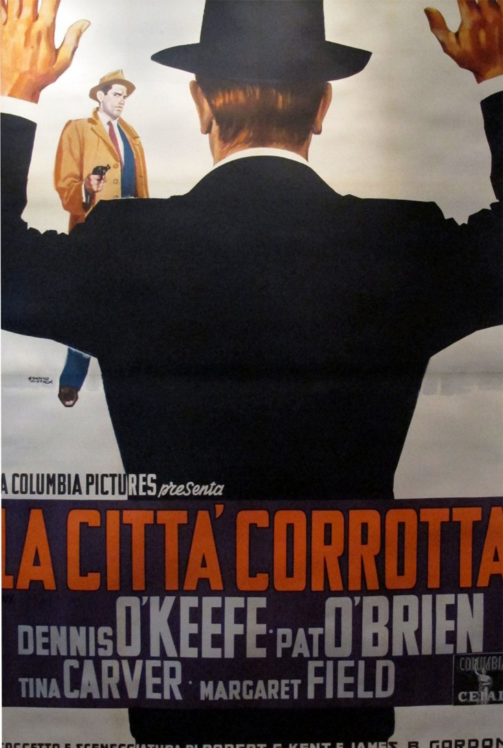 1950s Italian Movie Poster