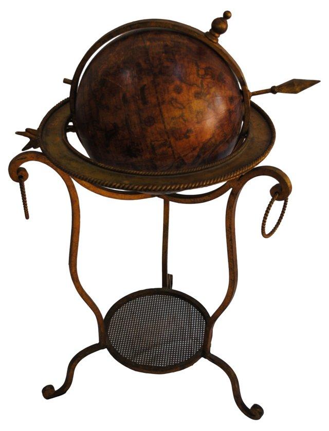 Midcentury Spanish Decorative Globe