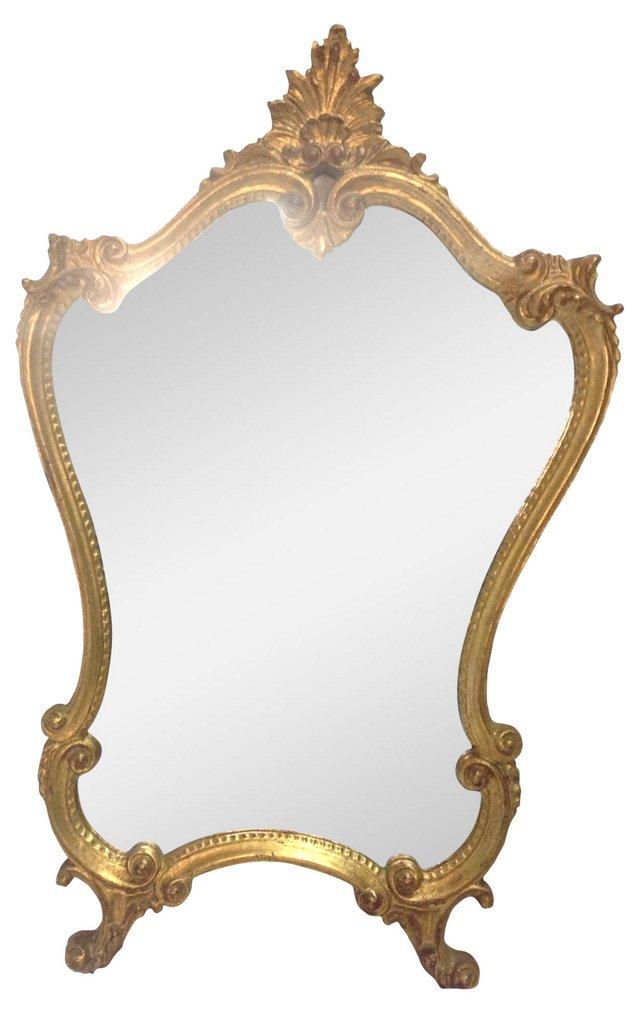 Giltwood   Italian Mirror