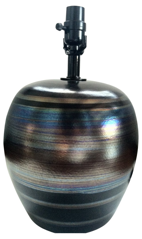 Midcentury Italian Glazed Lamp
