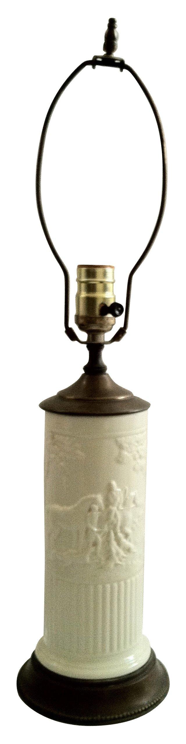 Hunting Scene Lamp