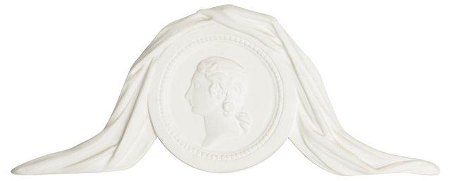 Gustavian-Style  Plaque