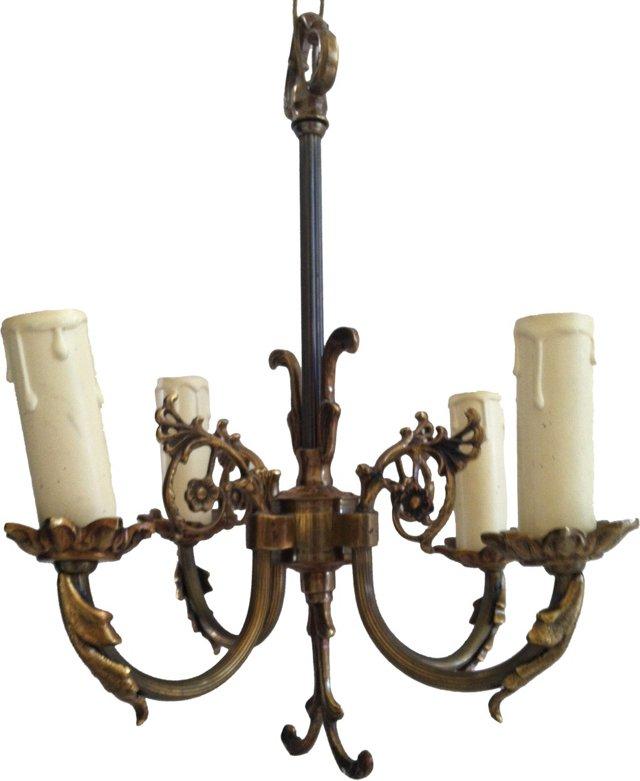 Gustavian-Style Chandelier