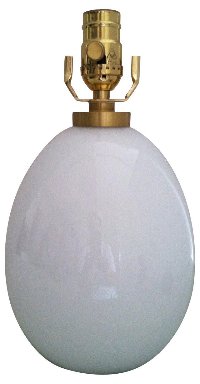 Le Klint White Glass Lamp