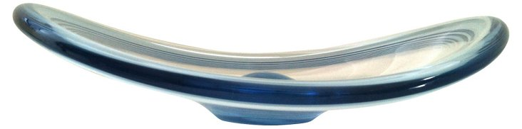Holmegaard Clear Blue Bowl