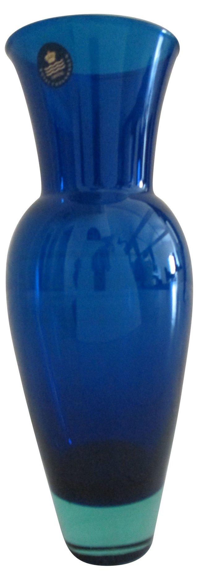 Royal Copenhagen Glass Vase