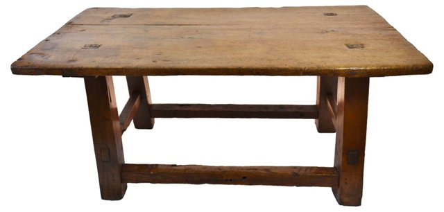 19th-C. Spanish Colonial Table