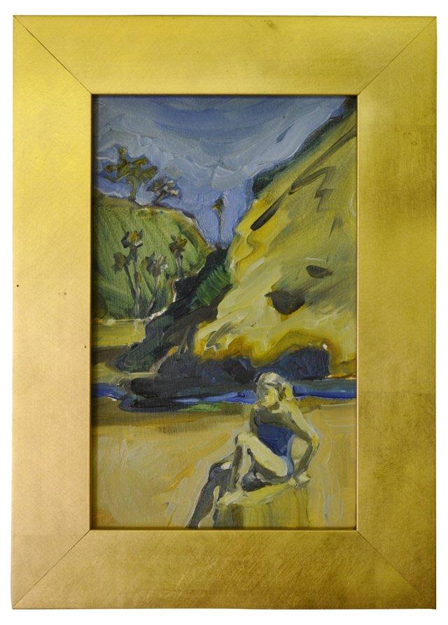 Cliffside Figure