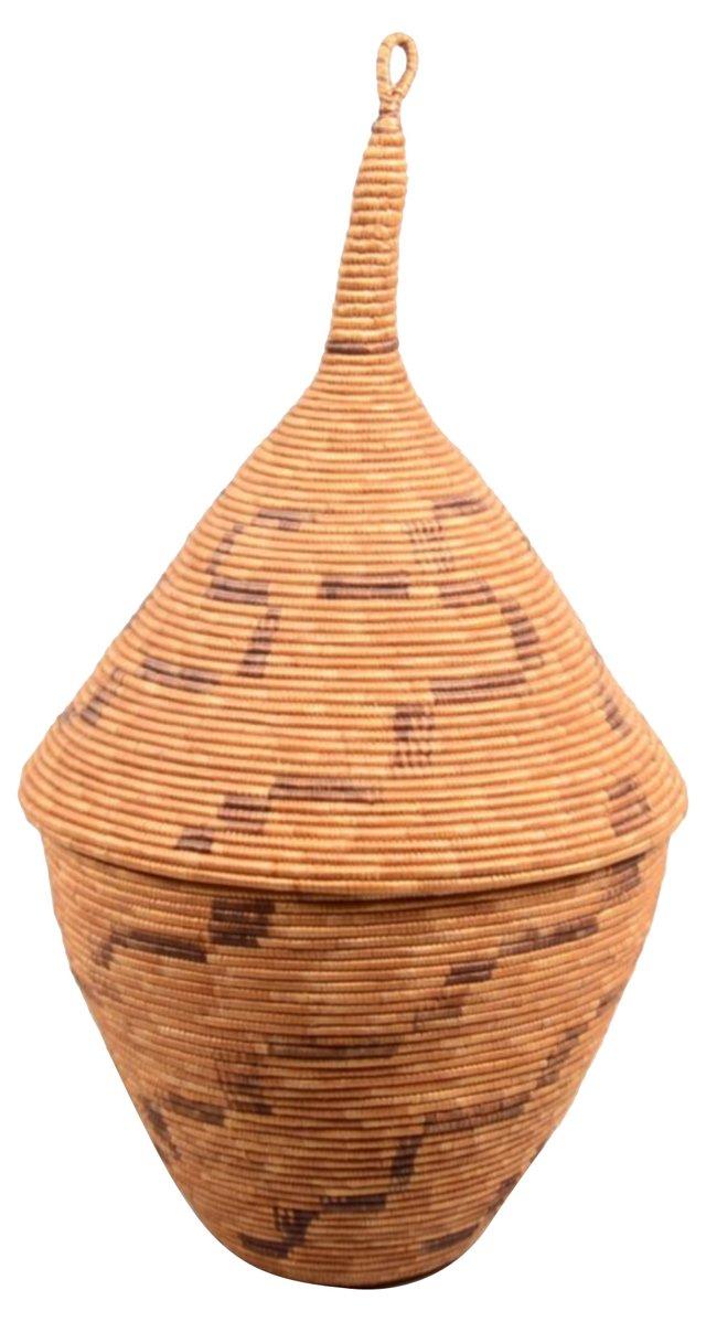 African Storage Basket