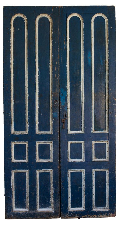 Blue  Doors, Pair