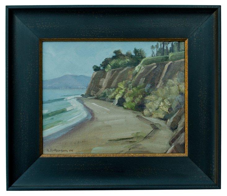 Butterfly Beach Cliffs, Montecito
