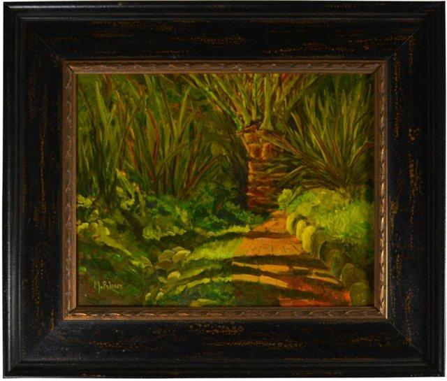 Path of Palms