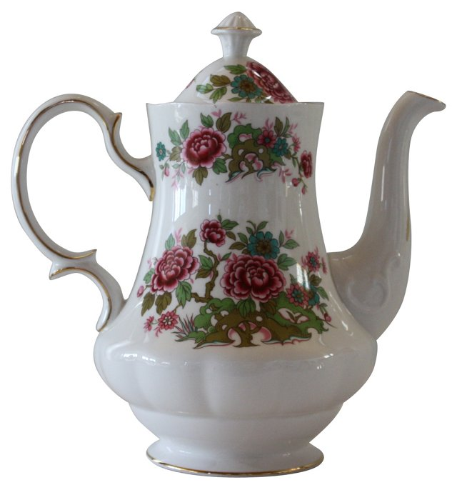 Queen Anne Chinese Tree Teapot