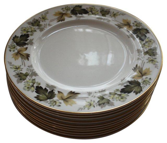 Royal Doulton Larchmont Plates, S/9