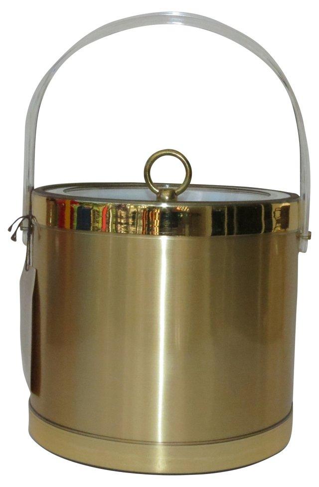 Georges Briard Gold Ice Bucket