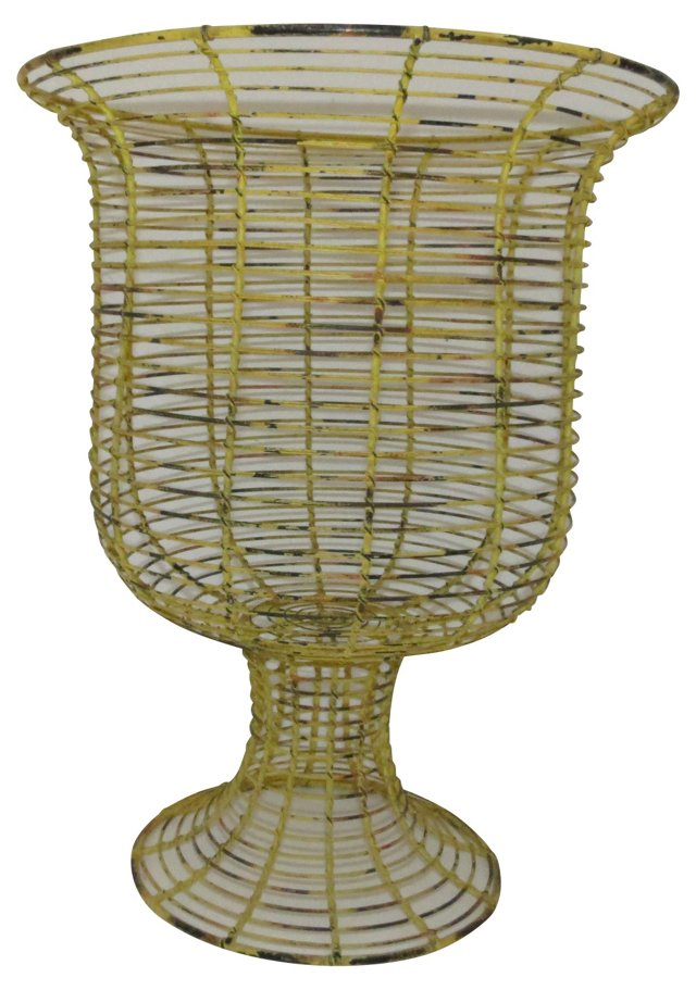 Footed Wire Basket