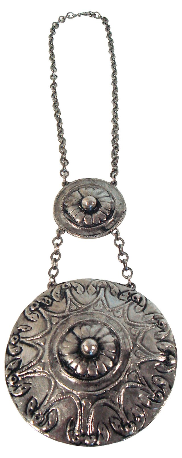 Double-Medallion  Necklace