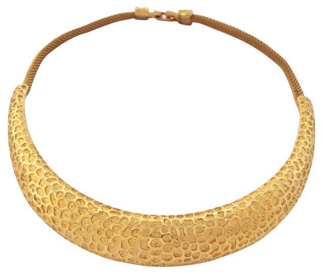 Diane Von Furstenberg Textured Collar