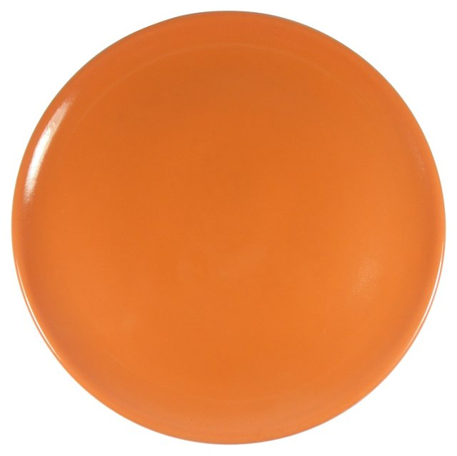 Poppytrail Orange Chop Plate
