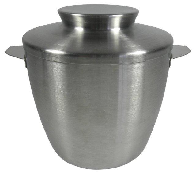 Stainless Steel Ice Bucket, 2 Pcs