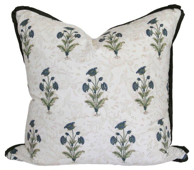 Block-Print Pillow