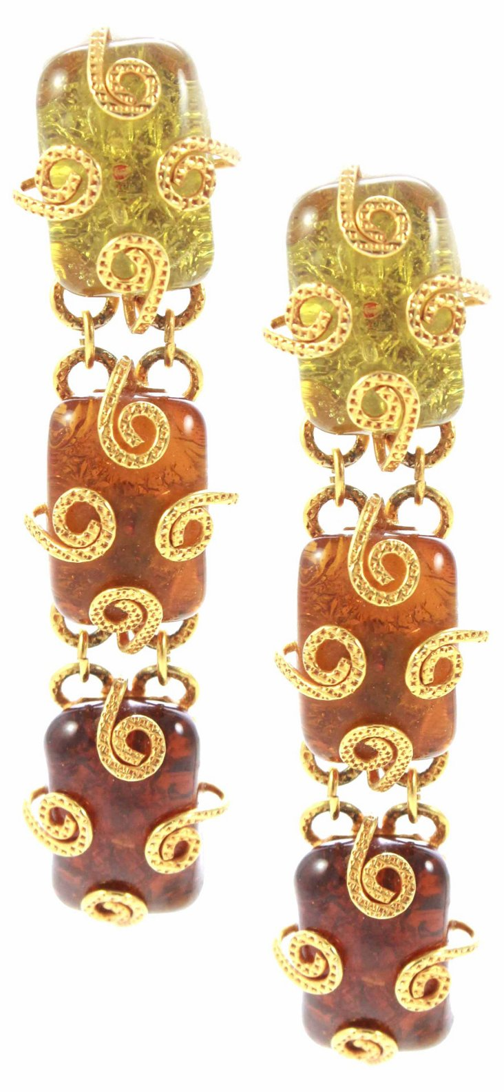 Dominique Aurientis Drop Earrings