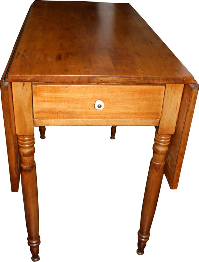 19th-C. Drop-Leaf Table