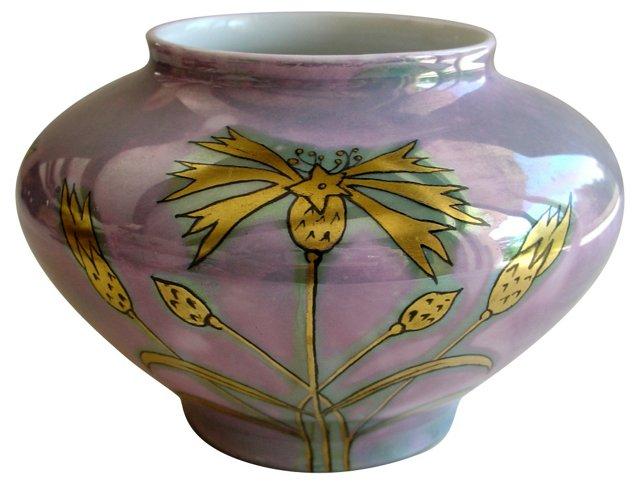GDA Limoges Vase, Signed